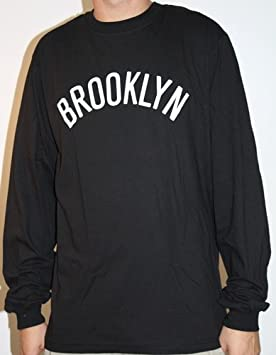 adidas Brooklyn Nets NBA Dime Long Sleeve T-shirt camisa - Black: Amazon.es: Deportes y aire libre