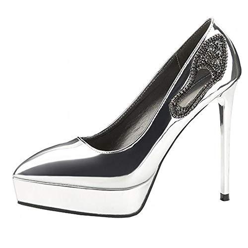 Sandales Renly Argenté 36 Femme 55 Silver Compensées 6 2759 EU 5 CaxR4aq