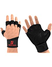 ProFitness Cross Training Gloves with Wrist Support Non-Slip Palm Silicone Padding to Avoid Calluses   for Weight Lifting, WOD, Powerlifting & Gym Workouts   Ideal for Both Men & Women