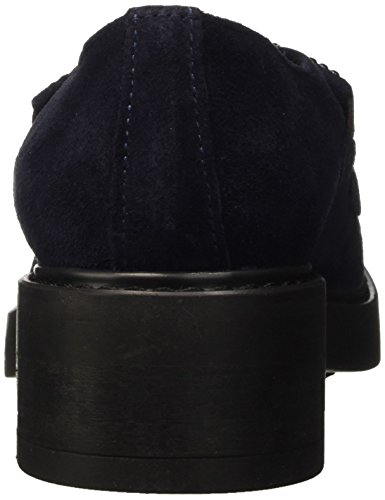 St de Zapatos Manas para Cordones Jean Azul Derby Navy Mujer Rq4ngw7v
