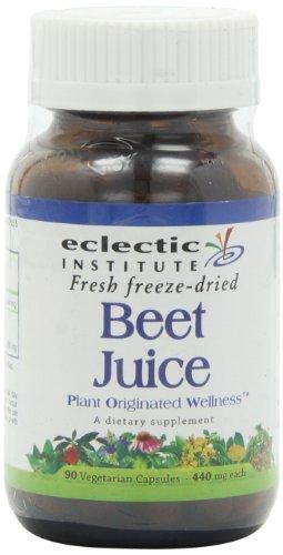 Beet Juice Freeze-Dried Eclectic Institute 90 Caps