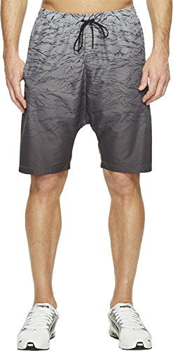 PUMA Men's Stampd Running Techy Shorts Black Shorts