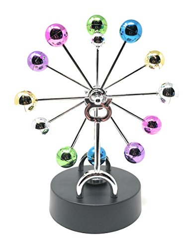 THY COLLECTIBLES Kinetic Art Asteroid - Electronic Perpetual Motion desk toy Home Office Decoration Ferris Sky Wheel (Wheel Decoration Ferris)