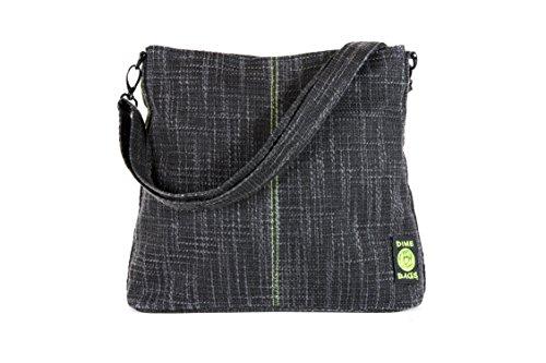 Urban Tote Bag - Adjustable Hand/Shoulder Straps & Smell Proof Pouch (Black)