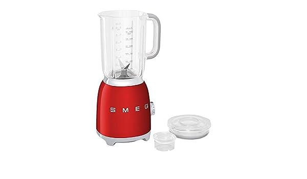 Smeg 50 s Retro Style, batidora blf01 Rojo: Amazon.es