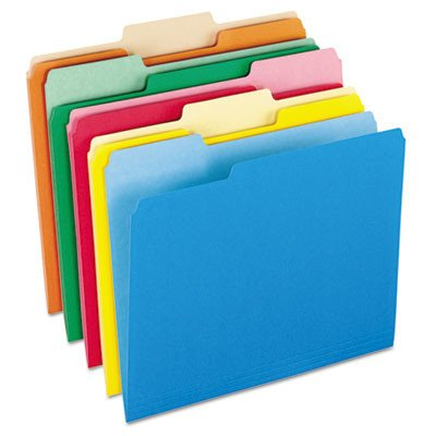 Pendaflex Two-Tone Color File Folders