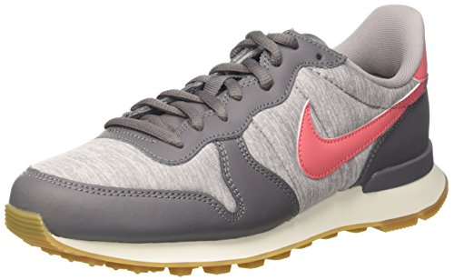 NIKE Donna Internationalist Coral Ginnastica Gunsmoke Multicolore da Sea Scarpe a 020 Basse rwrqxXFp