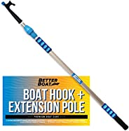 """Boat Hook with Standard Pole Screw End 3/4"""" Thread 