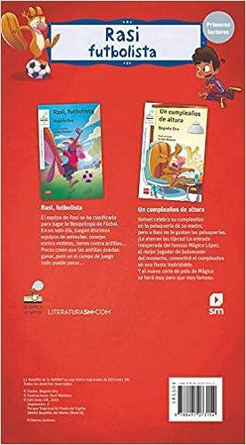 Pack de Rasi futbolista (El Barco de Vapor Blanca): Amazon.es: Begoña Oro Pradera, Dani Montero : Libros