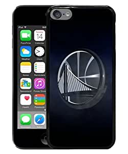 Newest iPod Touch 6 Case ,Popular And Beautiful Designed Case With Golden State Warriors Black iPod Touch 6 Screen Cover High Quality Phone Case