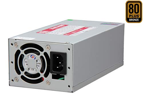(Athena Power 20+4Pin 400W Single 2U EPS 80 PLUS Server Power Supply - OEM Model AP-U2ATX40P8 )