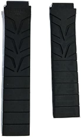 Tissot Women's T-Race 17mm Black Rubber Strap Band for Back Case T048217A