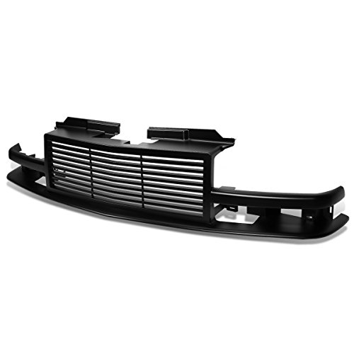 DNA Motoring GRF-007-BK Front Bumper Grille Guard [For 98-04 Chevy S10/Blazer]