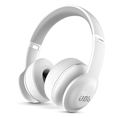 JBL Everest 300 Wireless Bluetooth On-Ear Headphones (White)