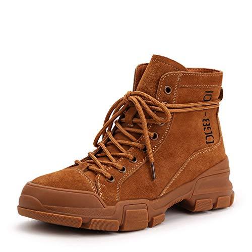 Moda Al Ocasionales Antideslizantes De Otoño Segundo Británicos Yan Cortas Invierno Gamuza Zapatos Botas Martin Libre Senderismo Aire xqwOHWvA