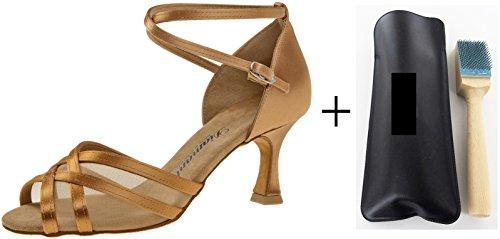 Con 035-087 -  087 donna danza scarpe, con MC-danza pennello sgrossatura