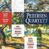 Petersen Quartett: Milhaud/ Lekeu/ Chausson/ Ravel