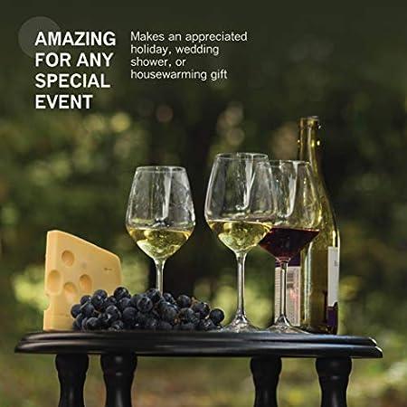 Bormioli Rocco Restaurant White Wine Glass, Set of 4 by Bormioli Rocco Glass Co, Inc.
