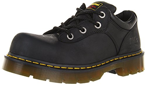 Dr. Martens Naseby ST Work Boot, Black Industrial Greasy, 45 M EU/10 M UK