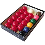 "Trade full size snooker ball set (2 1/16"") with 6 green Triangle chalks"