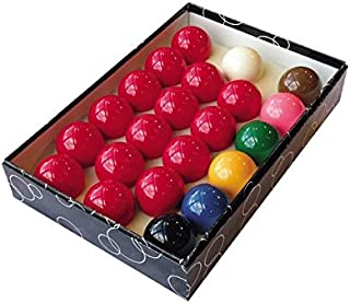 Trade full size snooker ball set (2 1/16) with 6 green Triangle chalks by Iqgamesroom/Triangle