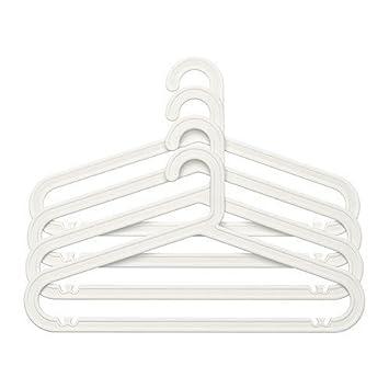 Kleiderbügel Ikea ikea bagis kleiderbügel hosenbügel 4 stück weiß amazon de küche