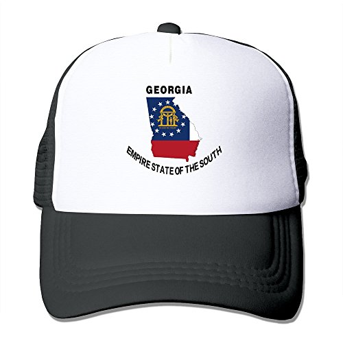af2974e19a3 Cool Georgia Empire State Of The South Adult Mesh Trucker Hat Cap One Size  Black - Buy Online in Oman.
