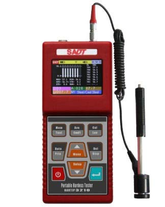 Hardness Tester Hartip 3210 Leeb Portable Digital Hardness with Cable Probe D (- Hardness Scale