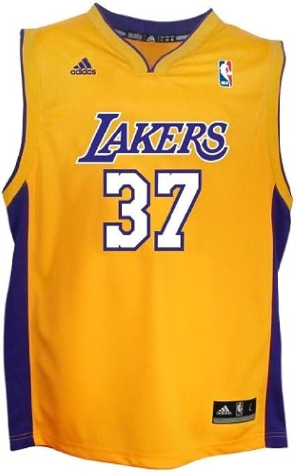 OuterStuff NBA Los Angeles Lakers Ron Artest Home réplica de ...