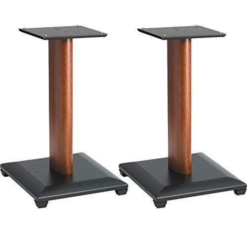 Sanus NF24C Cherry (Pr.) 24-inch Speaker Stands by Sanus