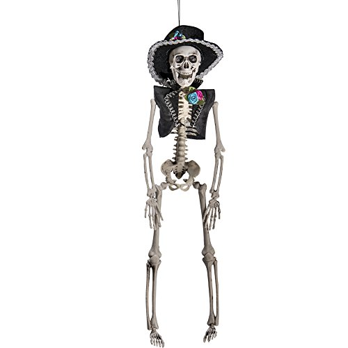 Carnival Toys Mexican 9039 Men Skeleton of Hang