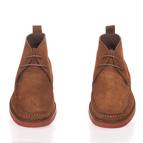 Castellanisimos Lederstiefel Stiefel Herren Boots Camel