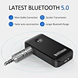 Bluetooth V5.0 aux Adapter, Boltune Audio Receiver