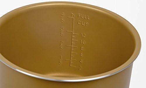 GM C02103 Cubeta cerámica dorada de 6 litros, Oro: Amazon.es: Hogar