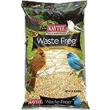 Kaytee Waste Free Wild Bird Food Canary Seed,Corn,Millet,Peanuts,Red Millet 10 Lbs.