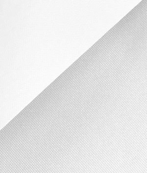 (White 600x300 Denier PVC-Coated Polyester Fabric - by the Yard)