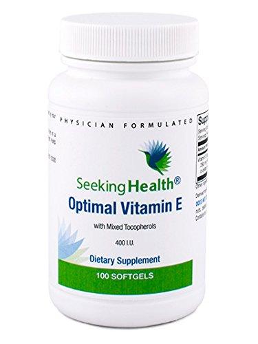 Optimal Vitamin E - 400 IU - 100 Softgels