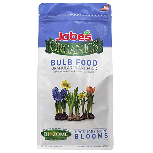 Jobe's Organics Bulb Food Granular Fertilizer, 4 lb