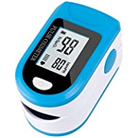 Fingertip Blood Oxygen Saturation Monitor Heart Rate Tracking Device