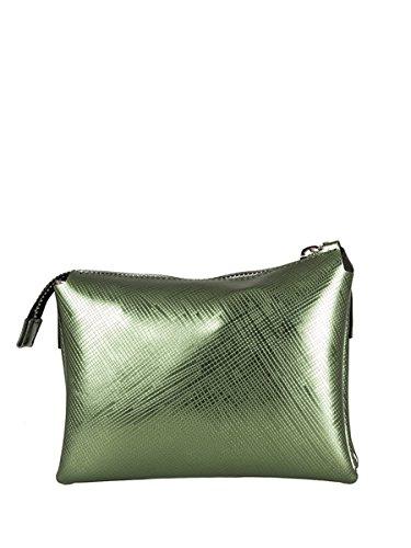 GUM BY GIANNI CHIARINI Borsa PVC, Tracolla, Verde, 4049, 20X15X6 cm