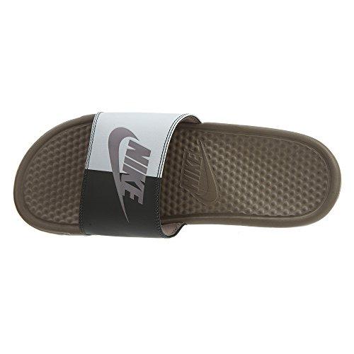 201 Stone Nike Nero Scarpe Uomo Sepia White JDI Stone da Piscina Spiaggia Benassi Summit e Sepia wwZ8xqvr