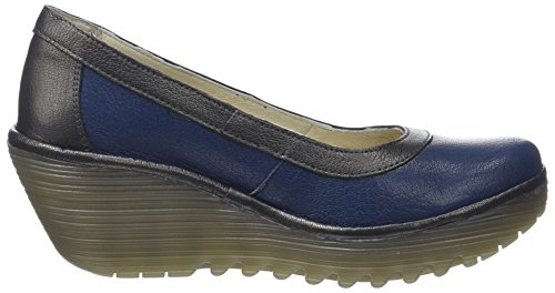 Blue London Toe Women's Blue Graphite Closed Yano838fly Heels Fly 7qw6xTzpT