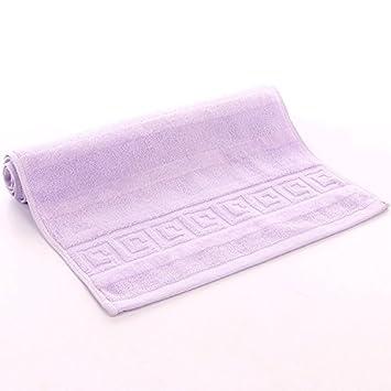 mmynl Pixel Color Fluffy toallas de algodón de 35 * 75 cm morado: Amazon.es: Hogar