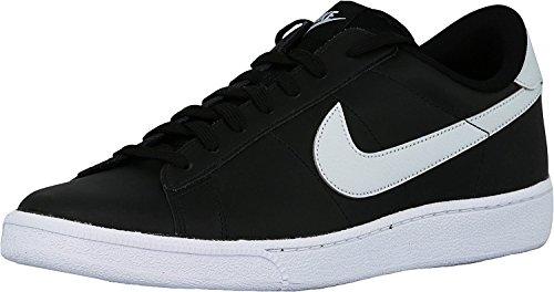 Nike Mænds Tennis Klassiske Læder Mode Sneaker Sort / Ren Platin HKCHyE8N2G