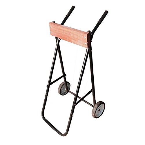 ALEKO BTMC200 Heavy Duty Folding Outboard Motor Rolling Cart and Storage Stand for Boat Service Storage 200 Pound Capacity by ALEKO