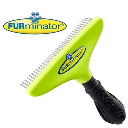 FURminator Pro Long Dog Hair Brush for Undercoats