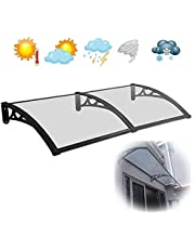 AXQQ Window Awning Door Canopy,Door Canopy Outdoor Door Cover Awning Canopy, Window Awning Ideal for Rain, Snow and UV Protection