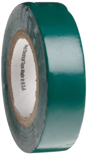 Scotch Vinyl Electrical Color Coding Tape 35, Green, 1/2 Width, 20 Foot Length (Pack of 1) Model: Misc.