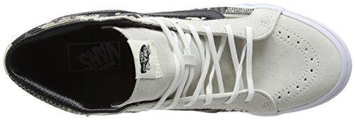 Vans Unisexe Sk8-hi Slim Chaussure De Skate Blanche / Noire