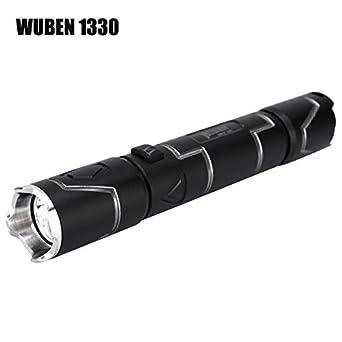 Pegasus WUBEN 1330 XPL-V5 350LM USB wiederaufladbare LED Taschenlampe 10440